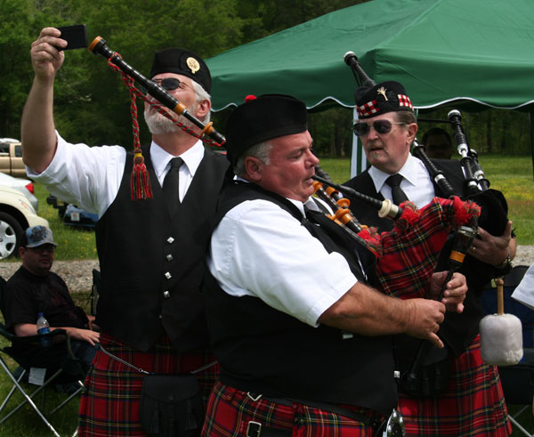 Tuning your bagpipes? There's an app for that!